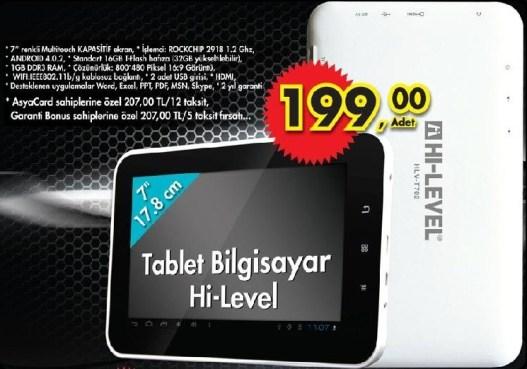 Hi-Level T702 Tablet