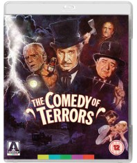 comedy of terrors blu-ray