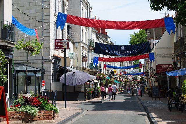 Saumur und Candes St. Martin