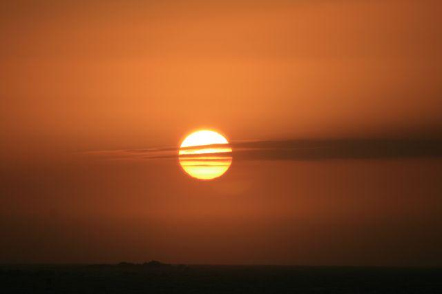 Sonnenuntergang Praia Traba