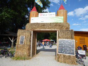 Eingang zum Beerencafé Johanneskirchen
