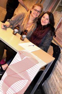 Eva Razenberger und Katrin Fischer (Kulturreferat ÖH Uni Graz) (c) Anja Rainer