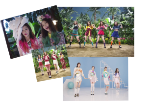 red velvet happiness fashion