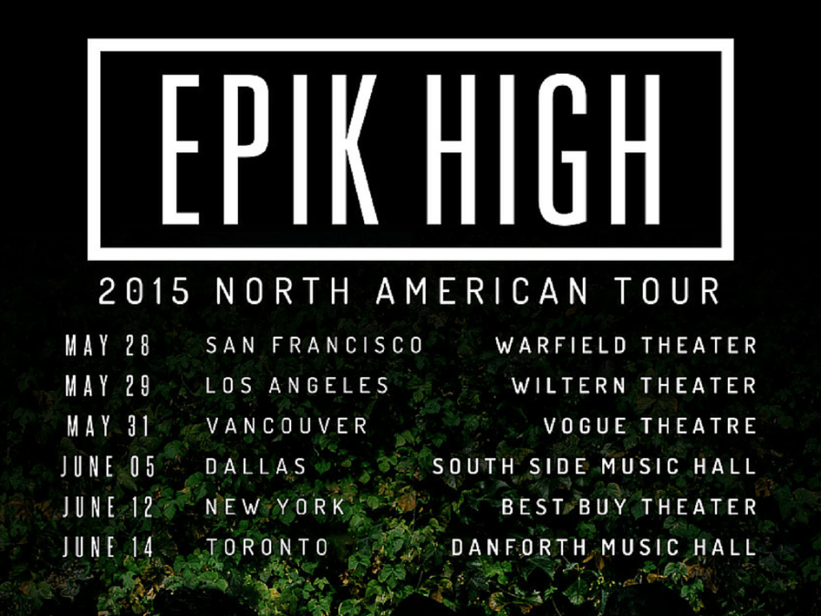 epik high vancouver dallas toronto los angeles san francisco chicago new york locations dates north american tour 2015