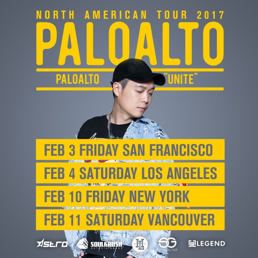 paloalto korean rapper la new york vancouver san francisco concert show unite tour