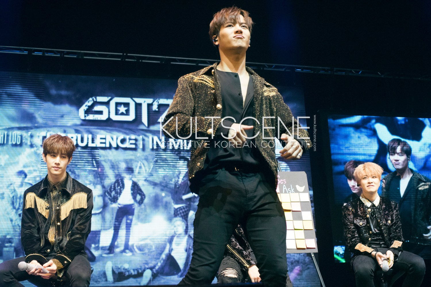 GOT7 #TurbulenceinMIA Mark Tuan Jackson Wang Choi Youngjae