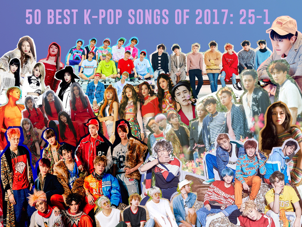 best kpop songs 2017 17 top tracks k-pop k pop