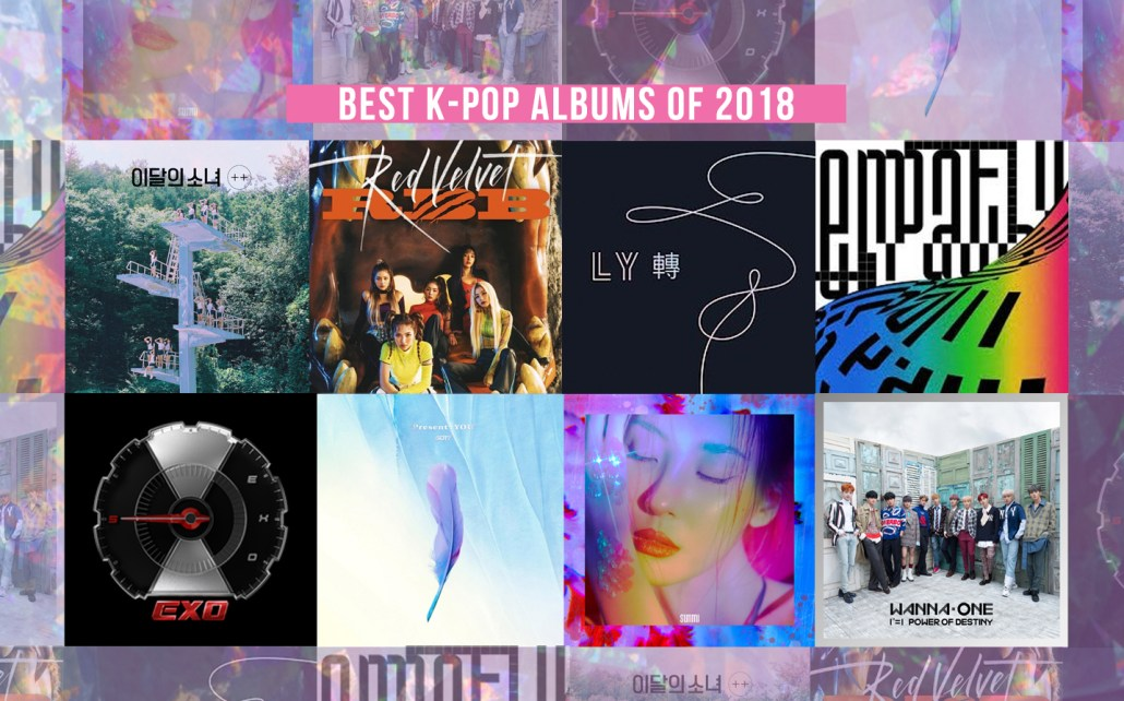 best kpop albums 2018 18 top k-pop korean