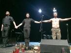 Ein Wahnsinnsabend: Philipp Hochmair und die Band Elektrohand Gottes im Berliner Ensemble 2016.
