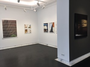 Februar 2017: Zu Besuch im Projektraum 68projects der Galerie Kornfeld in der Fasanenstraße 68, der eine Erweiterung des Galerieprogramms mit kuratierten (Themen-)Ausstellungen bietet.