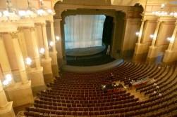 Das wunderbare Festspielhaus der Bayreuther Festspiele von oben