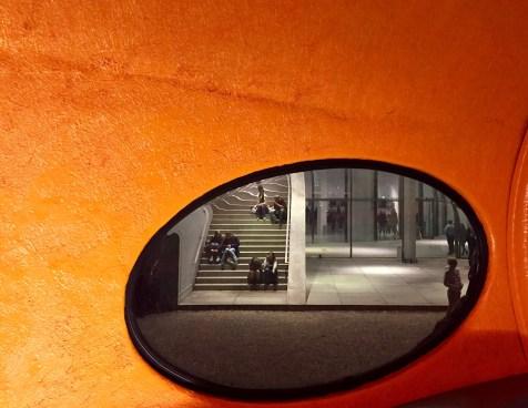 Die Pinakothek der Moderne bei der Langen Nacht der Münchner Museen 2017