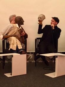 Nikolaus Habjan bei der Mitgliederversammlung der Freunde des Residenztheaters Ende November 2017
