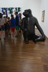 Zu Besuch im Leopold Museum in Wien, August 2018