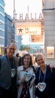 Mit unserem Schatzmeister Rolf Urban und unserer Vorsitzenden Marissa Biebl