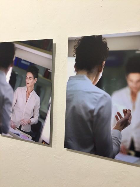 """Cordula Treml porträtierte für ihre Ausstellung """"Vor dem Auftritt"""" unter anderem die Schauspielerin Bibiana Beglau"""