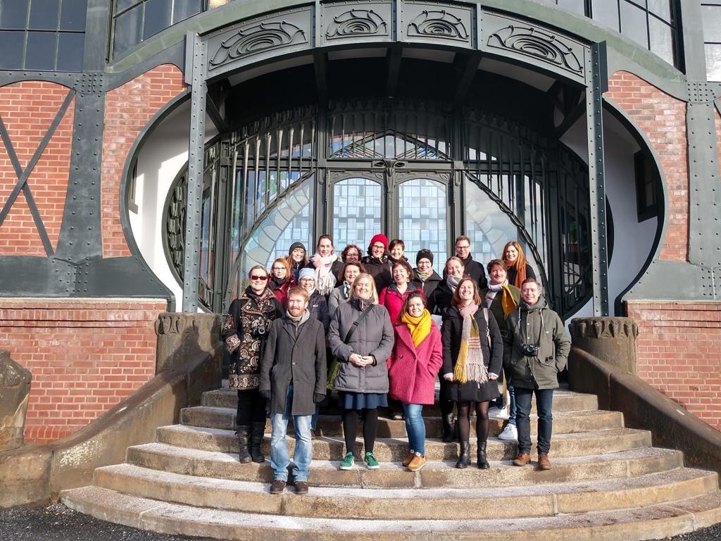 Gruppenbild im LWL-Industriemuseum Zeche Zollern