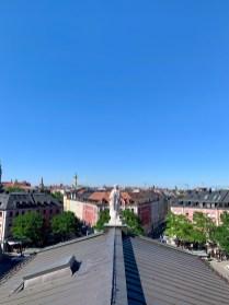 Über den Dächern des Gärtnerplatztheaters: Was für ein wunderbarer Blick über München!
