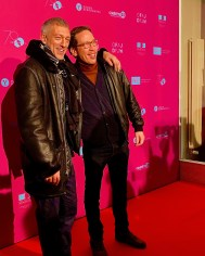 Vincent Cassel (l.) und Reda Kateb bei der Französischen Filmwoche Berlin