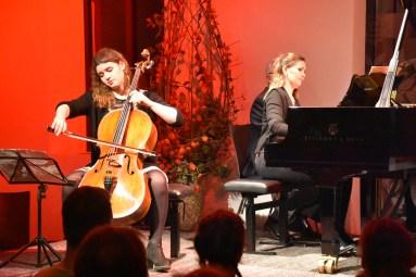 Julia Hagen (Cello) und Annika Treutler (Klavier) © Cultura Kulturveranstaltungen e.V.