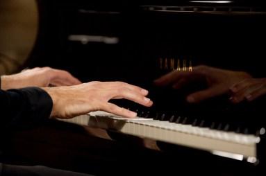 Beim Konzert des Pianisten Andreas Skouras © Christian Rudnik