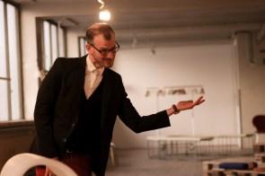 Schauspieler und Illusionist Philipp Oberlohr