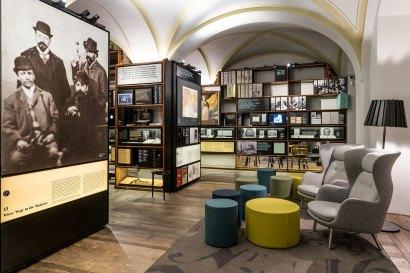 Ausstellungsansicht Literaturmuseum