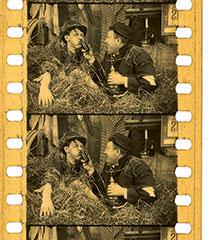 """Filmstreifen """"Der Bauernschreck"""" Aut 1913"""