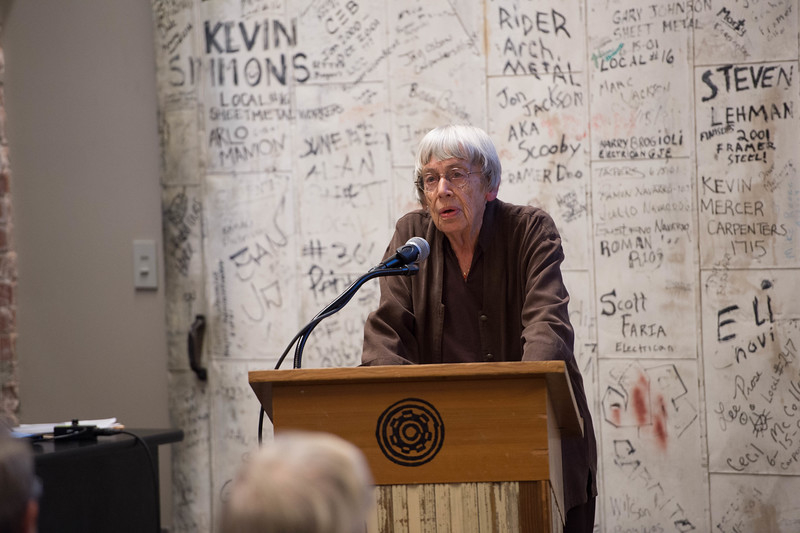 Ursula Le Guin by Win Goodbody   www.wingoodbody.photography