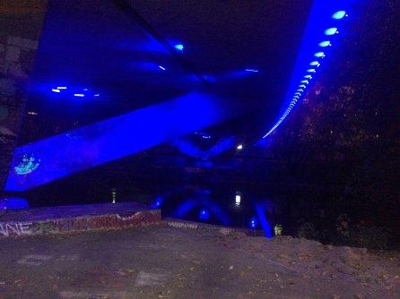 Unter der Marienbrücke