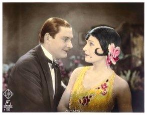 """Aufnahme von Heinrich Gärtner am Filmset von """"die tolle Lola"""" mit Lilian Harvey und Harry Halm"""