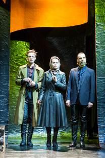 Jan Hutter (Jason/Presbon), Petra Staduan (Agameda/Glauke) und Jens Ole Schmieder (Akamas/Leukon)