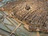 Plastisches Modell der inneren Stadt mit dem Glacis, 1852/54 Eduard Fischer © Wien Museum