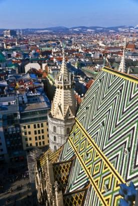 Blick vom Turm des Stephansdom