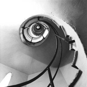 Lluis Muncunill, escalier de la tour de la Masia Freixa, 1910 in Terrassa © Serge Brison