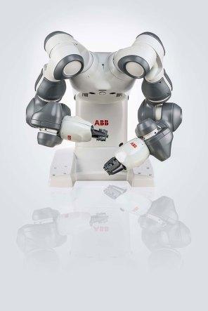 ABB Ltd., YuMi®, dual-arm industrial robot, 2015; Kollaborativer Roboter © ABB Ltd.