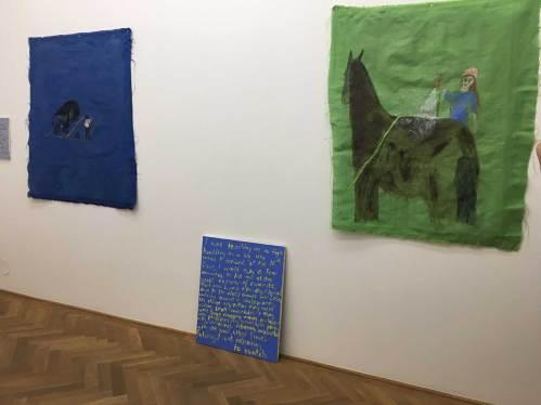 Ausstellungsansicht Jenny Watson