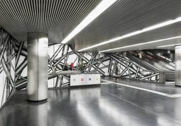 Peter Kogler U1-Station Karlsplatz © Iris Ranzinger, KÖR GmbH