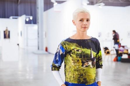 Christina Steinbrecher Pfandt @ A. Murashkin : viennacontemporary