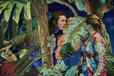 Philipp Auer und Clara Schulze-Wegener © Robert Polster / Volkstheater