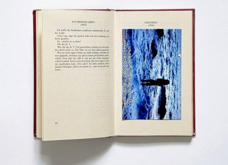 Judith Eisler, Intervention in Adolf Loos, Trotzdem, Prachner Verlag, 1982, Foto: Kunsthalle Wien 2017