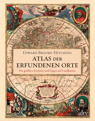 "Cover ""Atlas der erfundenen Orte"""