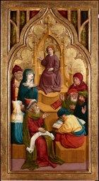 Meister von Schloss Lichtenstein, Der zwölfjährige Jesus im Tempel, um 1445/1450