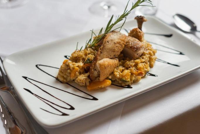 Guten Appetit mit Hühnerbrust