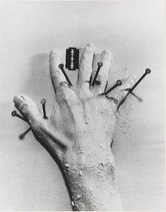 Günter Brus, Der helle Wahnsinn, 1968. zadik, Ausstellungsfoto. Foto: Henning Wolters.