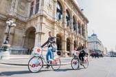 Die erste Stunde mit dem Citybike gratis radeln © Gewista