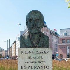 Büste im Esperantopark in Wien © Gugerell (wikipedia)