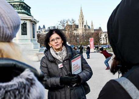"""Unterwegs mit Fremdenführerin der """"Austria Guides"""""""