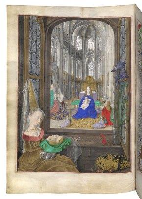 Maria von Burgund beim Gebet – © Österreichische Nationalbibliothek