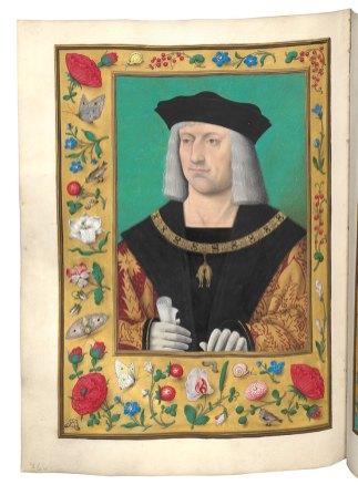 Maximilian als Souverän des Ordens vom Goldenen Vlies – © Österreichische Nationalbibliothek